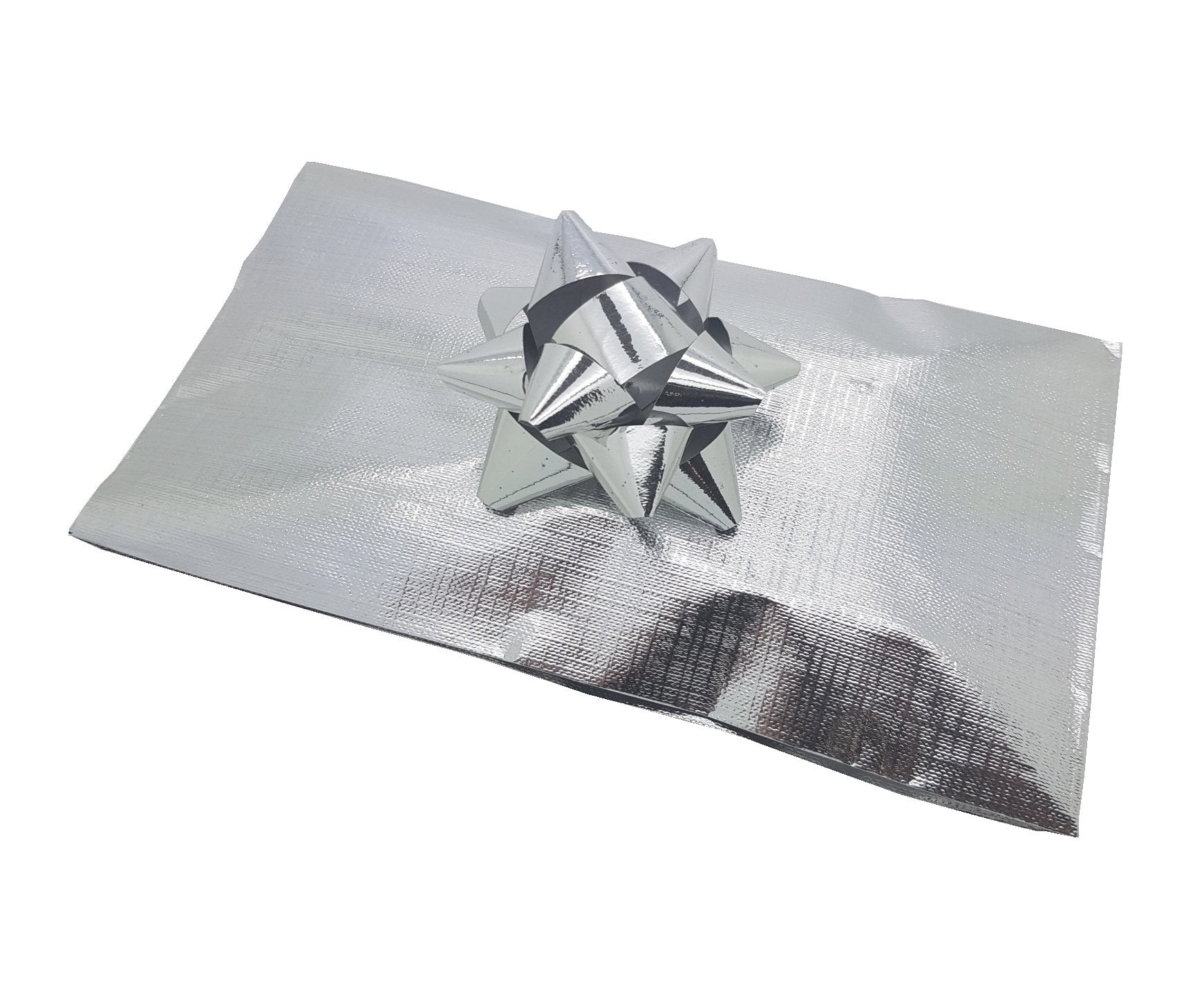 Silver Pleated Gift Bags