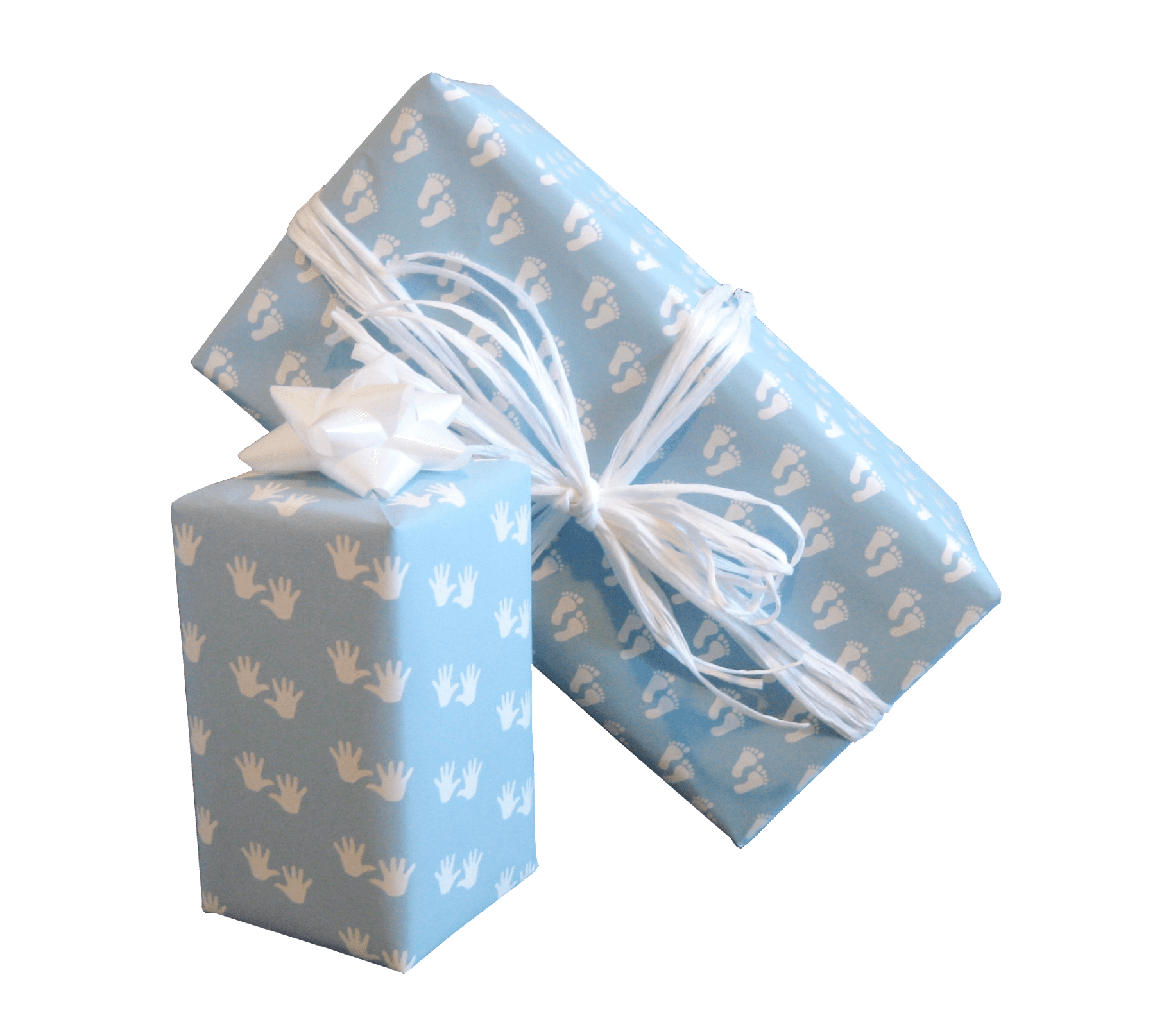 Baby Boy Gift Wrap Pastel Blue Baby Gift Wrap Trade Wrapping Paper