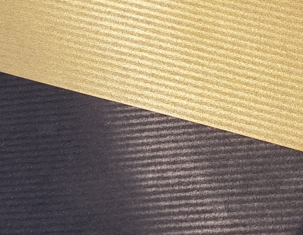 Black and Gold REversible Kraft Paper