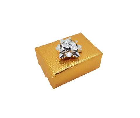 Gift Wrap Counter Roll Bright Gold Linen Texture - Hallons