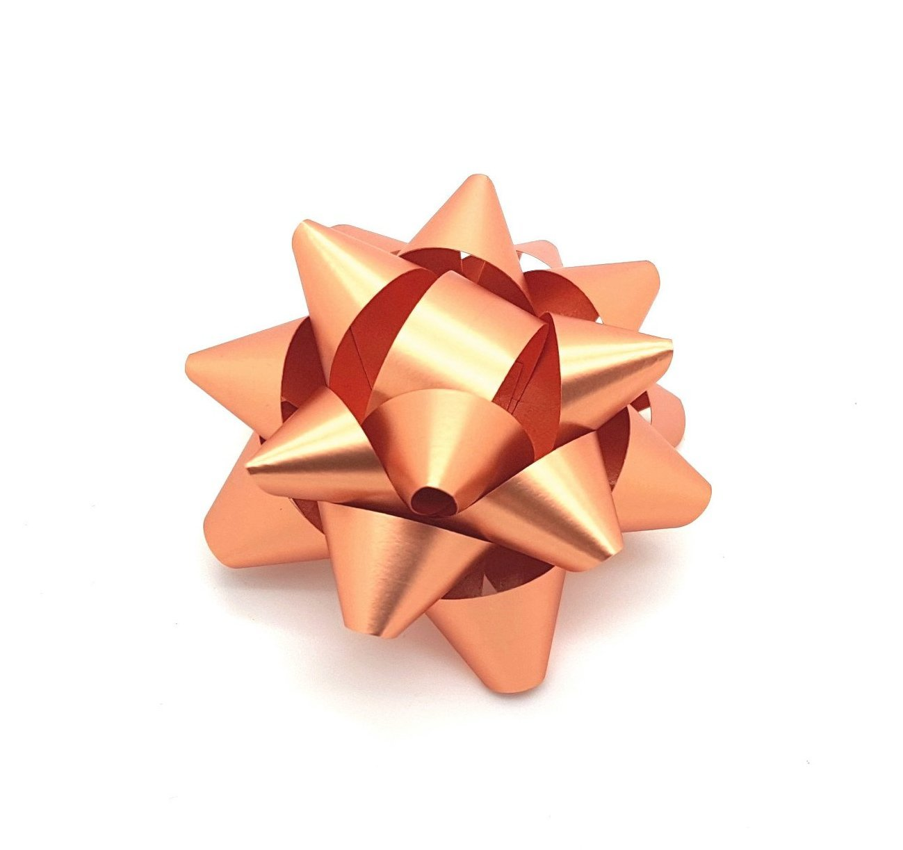 Copper Gift Wrapping Bow-Rose Gold Star Bow