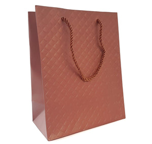 Rose Gold Copper Gift Bags - 2 Sizes - Pack 10