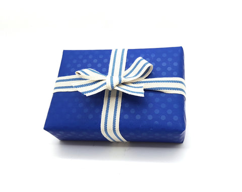 Royal Blue Counter Roll-Blue Trade Gift Wrap