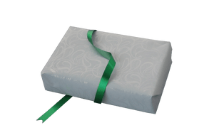 Metallic Green Easy Tear Polyribbon-Xmas Poly Ribbon