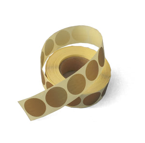 Gold Foil Seals-Gold Bag Closers-Matte Gold Seals