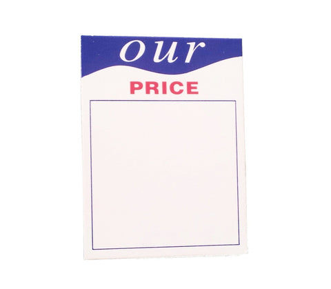 Our Price Tickets-cordinating with Winter Sale Posters