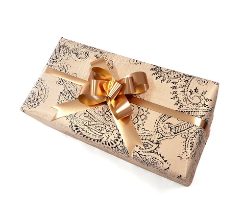Bridal-Trade Wedding Gift Wrap Paper-Gold Gift Wrap