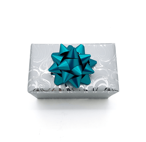 Silver Swirl Wrapping Paper-Silver Trade Wrapping Paper