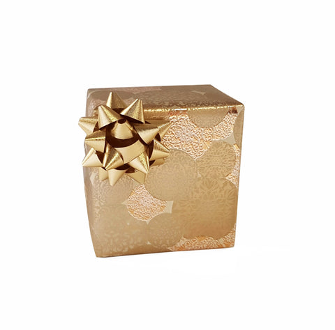 Luxury Gold Gift Wrap-Counter Roll Trade Wrapping Paper