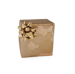 Gold Xmas Gift Wrap-Warm Gold Xmas Wrapping Paper