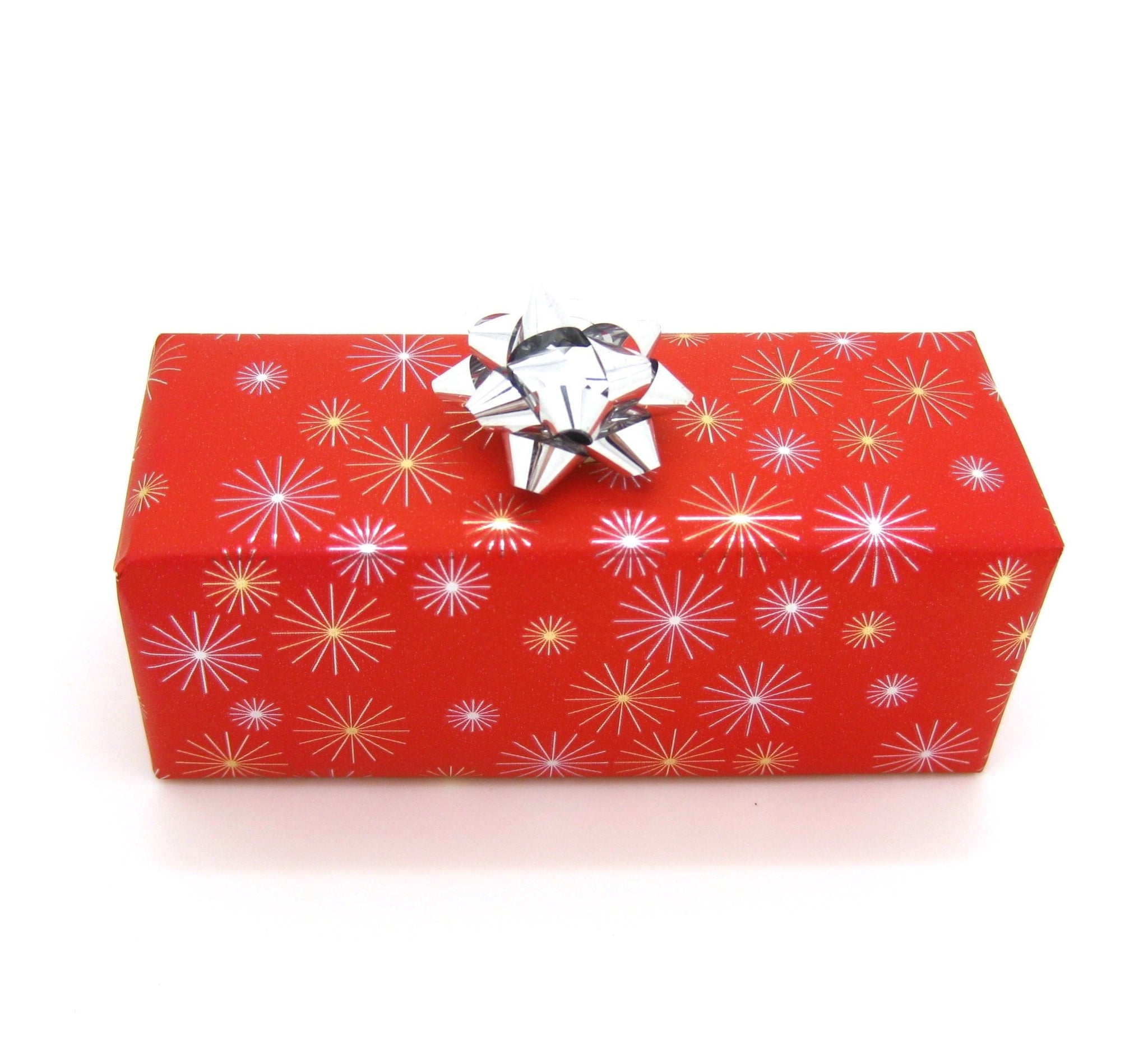 Red Star Design Xmas Wrapping Paper-Trade Xmas Gift Wrap