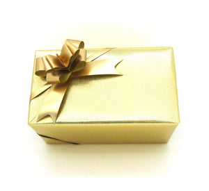 Plain Gold Trade Wrapping Paper