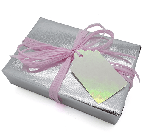 Plain Silver Trade Wrapping Paper-Silver counter Roll