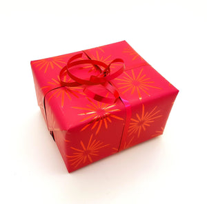 Bright Pink Christmas Gift Wrap-Hot Pink Wrapping Paper