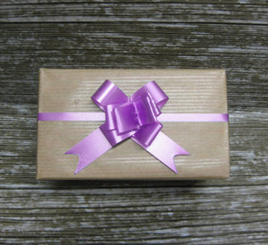 Lilac Pull Bow-Small Lilac Pull Bow