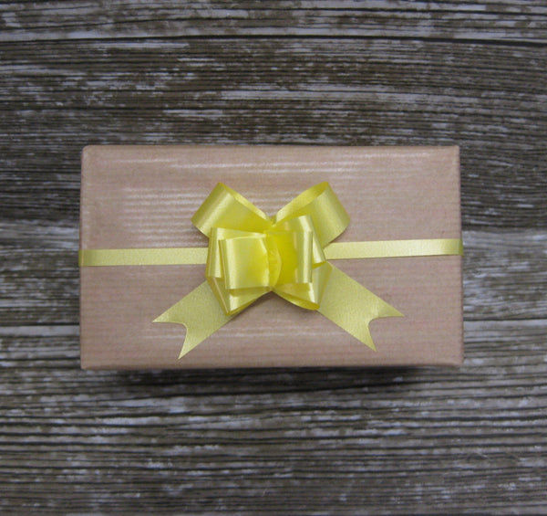 Small Yellow Pull Bows-Small Yellow Bows