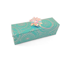 Turquoise Trade Xmas Wrapping Paper-Aqua Gift Wrap