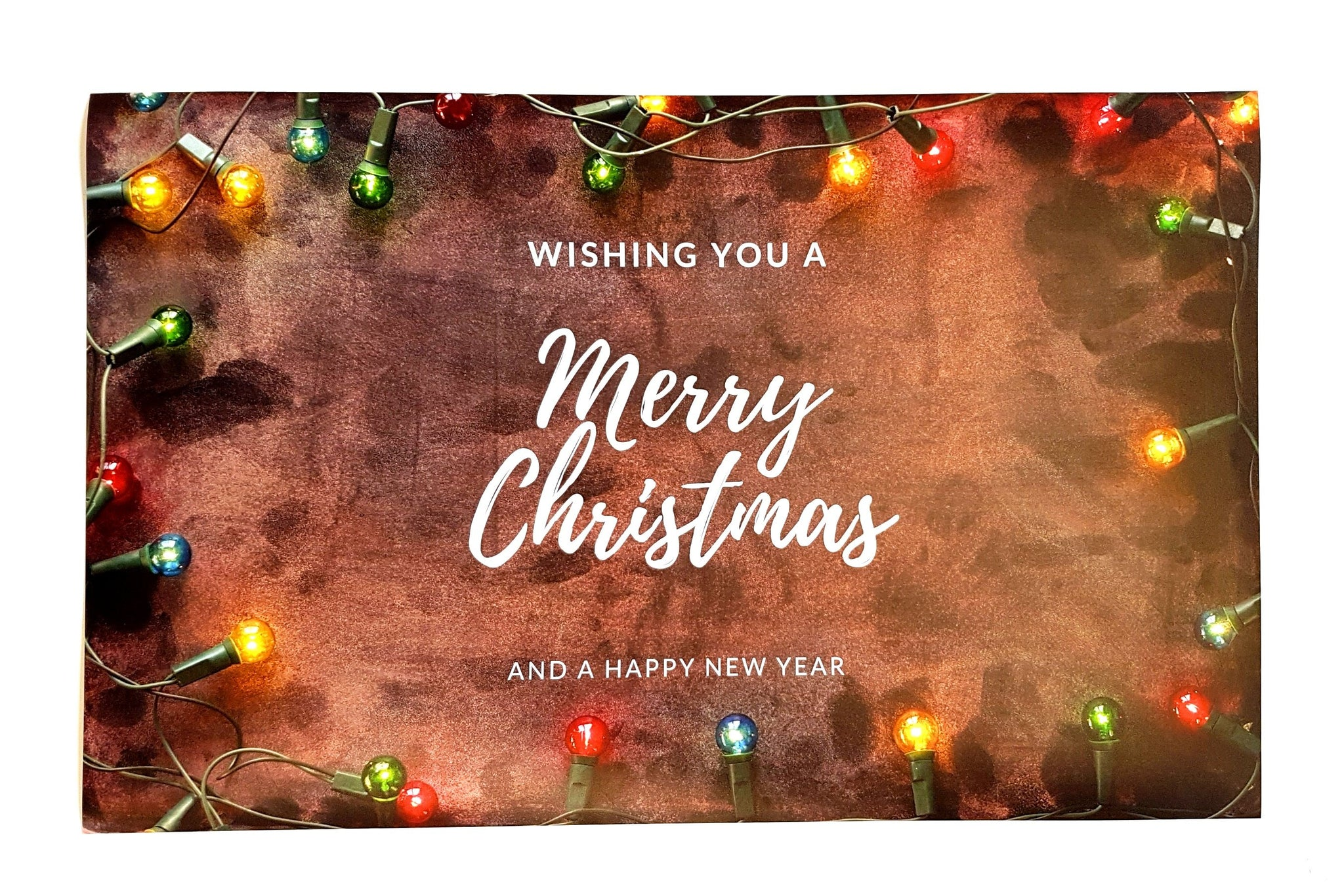 Christmas Posters.Small Poster Wishing You A Merry Christmas