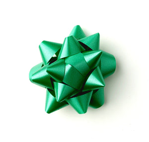 Green Star Bow-Emerald Green Star Bow