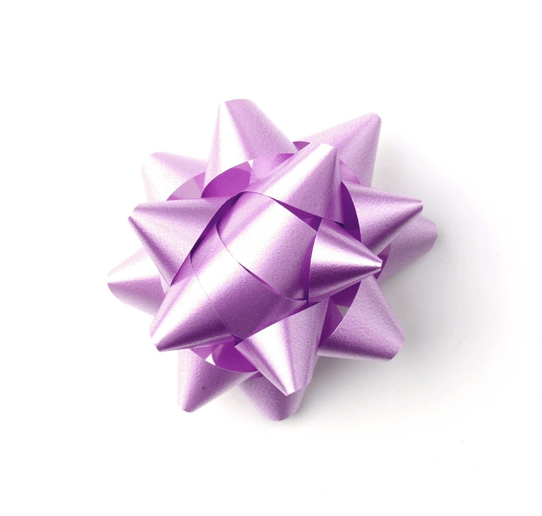 Lilac Star Bow-Pastel Purple Bow