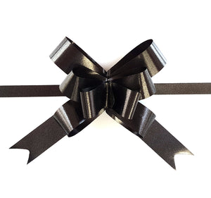Black Gift Bow-Black Gift Ribbon
