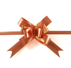 Rose Gold Bow Copper Gift Bow-Copper Pull Bows