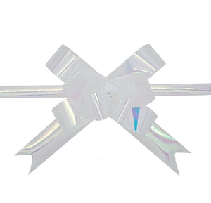 Iridescent Pull Bows - Pack of 50 - Hallons