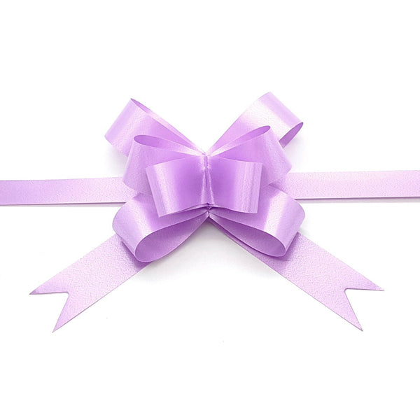 Lilac Pull Bow-Light Purple Bow