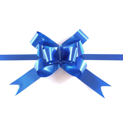 Royal Blue Pull Bow-Blue Pull-up Bow