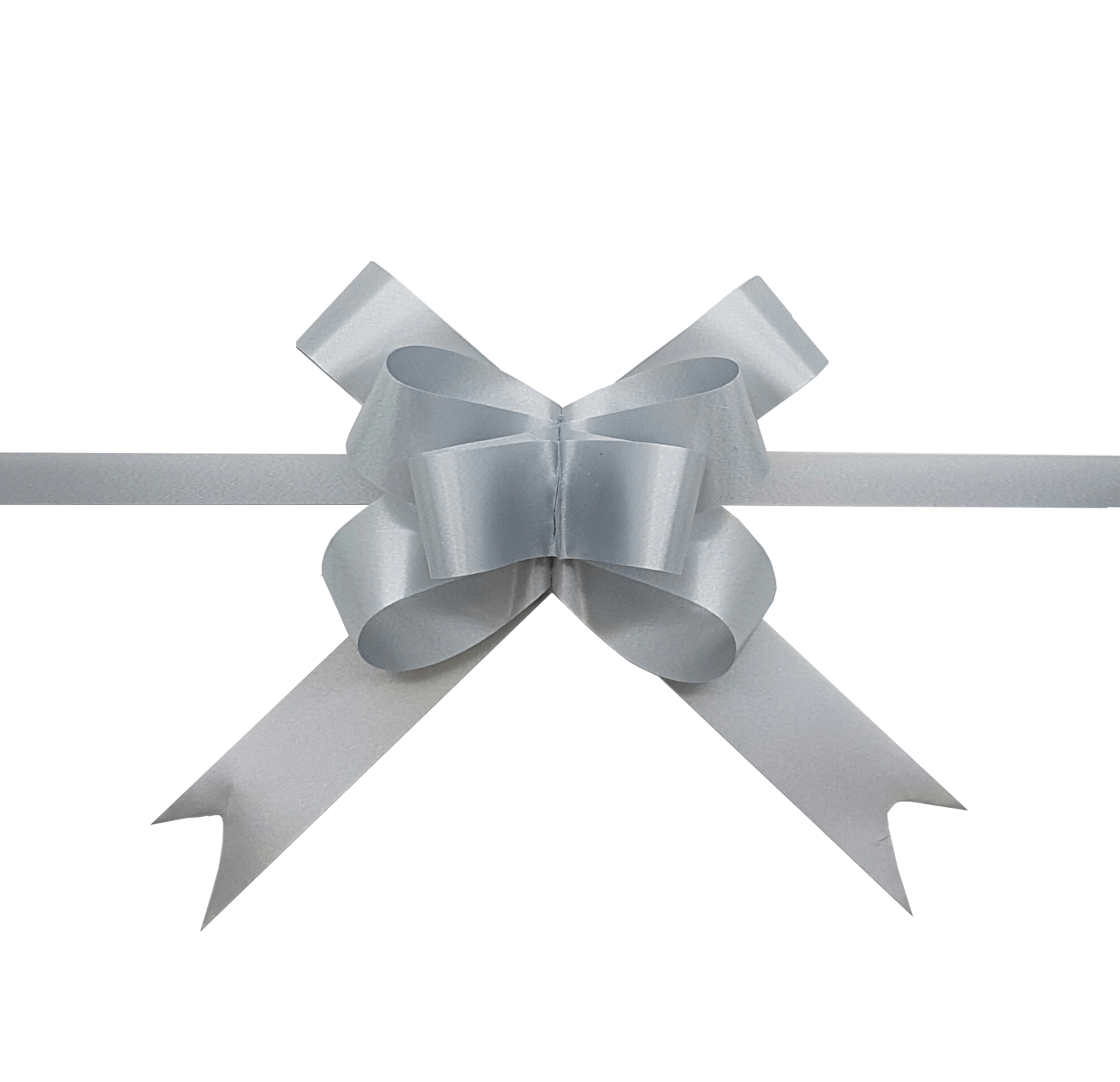 Pastel Silver Pull Bows-Pale Silver Gift Bow-Pale Grey Bow ...  Pastel Silver P...