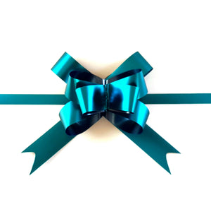 Turquoise Pull Bows-Teal Gift Bows-Magic Bows