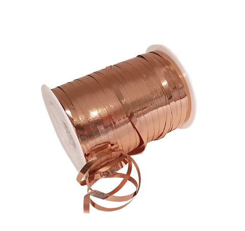 Copper Curling Ribbon-Rose Gold Curling Ribbon