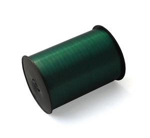 Xmas Green Curling Ribbon-Emerald Green Ribbon