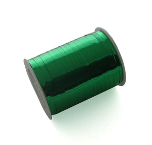 Xmas Curling Ribbon-Shiny Green Curling Ribbon