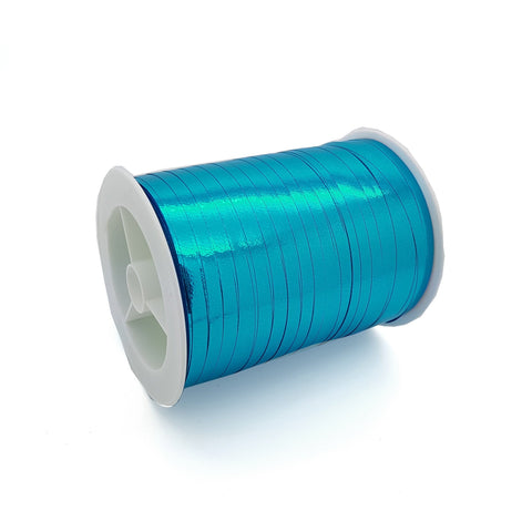 Sky Blue Curling Ribbon-Shiny Aqua Curling Ribbon