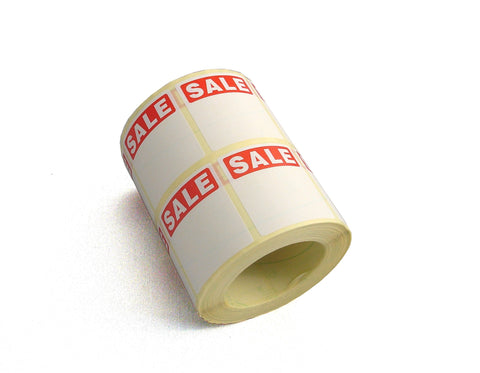 Sale Labels-Sticky Sale Labels-POS Stick-on Sale Labels