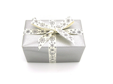 Double-sided Matte Silver/Gold Trade Gift Wrap