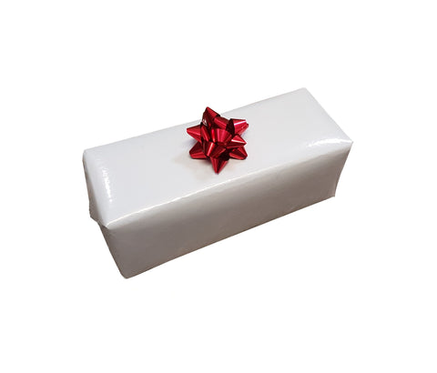 Plain White Gloss Gift Wrap Counter Rolls