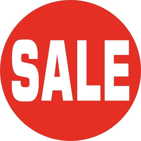 Sale Disc-Double-sided Sale Card