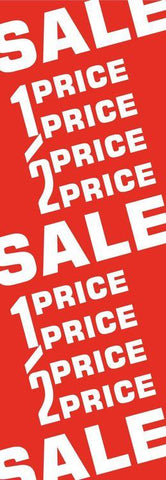 Half-Price Sale Poster Vertical