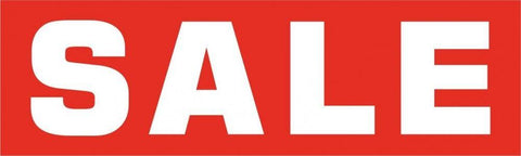 Large Sale Poster-Big Red
