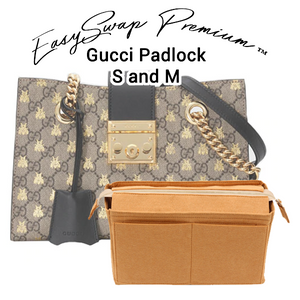 Purse Organizer for Gucci Padlock S and M