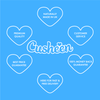 Cusheen Luxury 3 Ply  (Extra Strong) Quilted Lavender Scented Toilet Paper 60 rolls with a Luxury Cusheen Lavender Spray 250ml