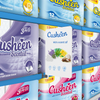 Cusheen Luxury 3 Ply Quilted & Lemon Scented 3 Ply Toilet Tissue Paper Rolls – 60 Rolls