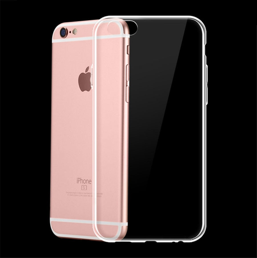 New Transparent Clear Case Soft TPU Case Silicone Cover Ultra Thin Mobile Phone Case for IPhone 8 7 5 5S SE 6 6s Plus X S R MAX