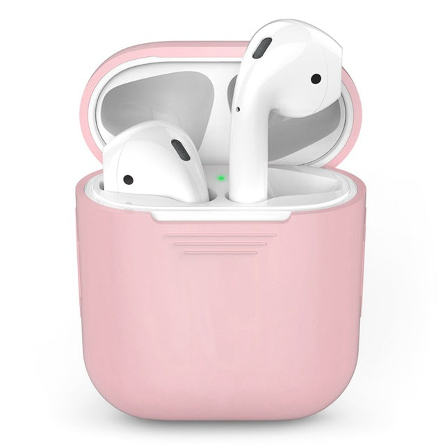 TPU Silicone Bluetooth Wireless Earphone Case For AirPods Protective Cover Skin Accessories For Apple Air Pods Charging Box