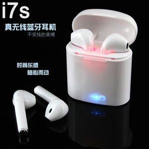 i7S TWS Ture Wireless Bluetooth Earphone Headset Mini  i8s i9s