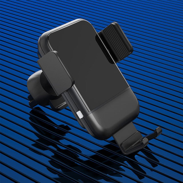 Essager Touch Sensor Qi Car Wireless Charger For iPhone Xs Max X Samsung S9 10W Fast Wireless Car Charger Charging Mount Holder