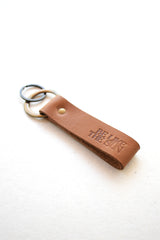 Jolly Keyring in Tan