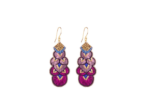 Alis cherry earrings